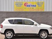 2014 Jeep Compass Limited  in Bright White Clearcoat,