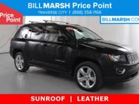 2014 Jeep Compass Limited 4WD, Leather, HEATED SEATS,