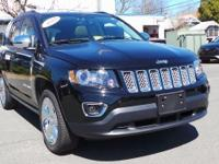 CARFAX One-Owner. 2014 Jeep Compass in Black, *Carfax
