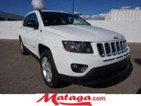 2014 Jeep Compass Sport in Bright White Clearcoat with