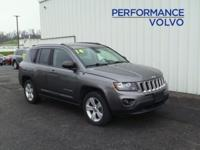 ONE OWNER!! 2014 JEEP COMPASS!! 4WD, 2.4L, ALLOY