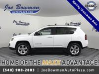 New Price! 2014 Jeep Compass Sport Bright White