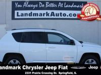 Meet our 2014 Jeep Compass Sport! Under the hood, Sport