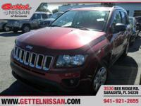 Options:  2014 Jeep Compass Sport|Red|2.0L 4 Cyls|2
