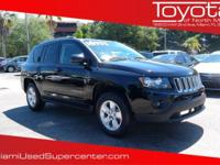 Options:  2014 Jeep Compass Sport|Black Clearcoat/|V4