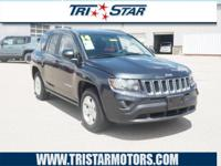 Get ready to go for a ride in this 2014 Jeep Compass