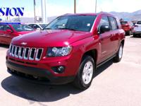 Recent Arrival! Maroon 30/23 Highway/City MPG 2014 Jeep