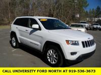 Clean CARFAX. 2014 Jeep Grand Cherokee Laredo White