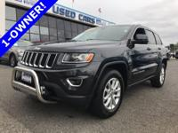Priced to move, this 1-Owner Jeep Grand Cherokee Laredo