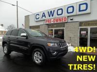 Options:  2014 Jeep Grand Cherokee Laredo Granite
