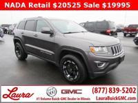 1-Owner New Vehicle Trade! Laredo 3.6 V6 4x4. Towing
