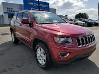 Deep Cherry Red Crystal 2014 Jeep Grand Cherokee Laredo
