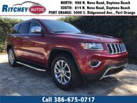 LOW MILEAGE 2014 JEEP GRAND CHEROKEE LIMITED RWD**CLEAN