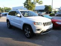 Bright White Clearcoat 2014 Jeep Grand Cherokee Limited