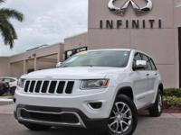 2014 Jeep Grand Cherokee Limited, 42130 Miles, Auto,