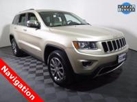 2014 Jeep Grand Cherokee Limited with a 3.6L V6 Engine.