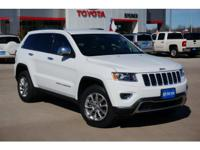 2014 JEEP CHEROKEE LIMITED, WHITE PEARL, TOW PKG,