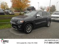Recent Arrival!  2014 Jeep Grand Cherokee Limited Blue