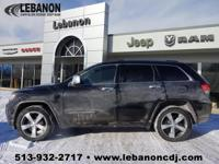 CARFAX One-Owner. Clean CARFAX. Black 2014 Jeep Grand