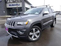 Options:  2014 Jeep Grand Cherokee Limited|Gray|Recent