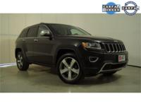 CARFAX One-Owner. Black 2014 Jeep Grand Cherokee