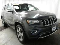 Boasts 28 Highway MPG and 21 City MPG! This Jeep Grand