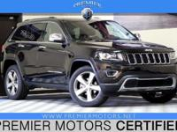 Options:  2014 Jeep Grand Cherokee Limited|Black|3.6L