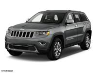 Recent Arrival! 2014 Jeep Grand Cherokee Limited CARFAX