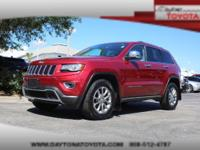 2014 Jeep Grand Cherokee Limited 4WD V6, *** 1 OWNER