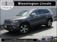 Recent Arrival! 2014 Jeep Grand Cherokee Limited 3.0
