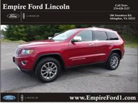 Options:  2014 Jeep Grand Cherokee Limited|4X4 Limited