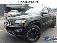 Options:  2014 Jeep Grand Cherokee Limited|Black|3.45