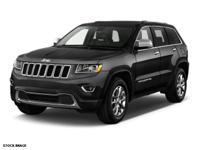 Options:  2014 Jeep Grand Cherokee Limited 4X4|In A