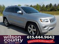 2014 Jeep Grand Cherokee Overland 5.7L V8 Multi