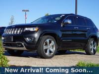 2014 Jeep Grand Cherokee Overland in Brilliant Black