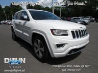 2014 Jeep Grand Cherokee Overland  Recent Arrival!