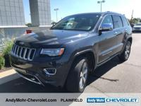 Black 2014 Jeep Grand Cherokee Overland 4D Sport