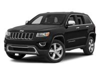 White 2014 Jeep Grand Cherokee Overland 4WD 8-Speed