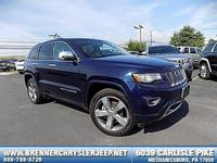 Come see this 2014 Jeep Grand Cherokee Overland. Its