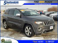 Options:  2014 Jeep Grand Cherokee Overland|4X4