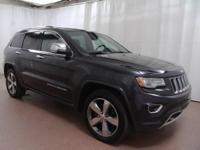 2014 Jeep Grand Cherokee Overland  CARFAX One-Owner.