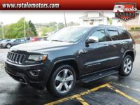2014 Jeep Grand Cherokee Overland  in Maximum Steel