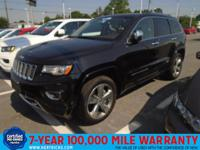 This 2014 Jeep Grand Cherokee Overland is proudly