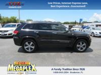 This 2014 Jeep Grand Cherokee Overland in is well