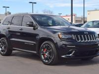 This 2014 Jeep Grand Cherokee SRT8 comes with
