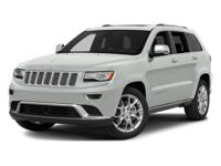 This 2014 Jeep Grand Cherokee Summit has an exterior