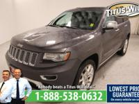 2014 Jeep Grand Cherokee Gray, Completely inspected and