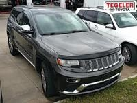 Gray 2014 Jeep Grand Cherokee Summit 4WD 8-Speed