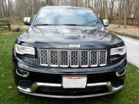 2014 Jeep Grand Cherokee Summit; 4wd; Fully Loaded