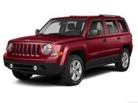 Introducing the 2014 Jeep Patriot! Ensuring composure